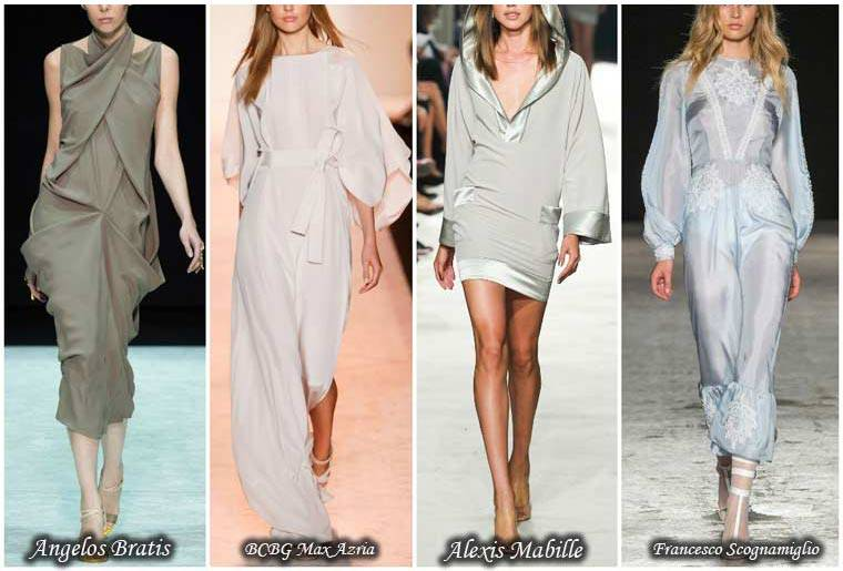 Rochii la moda nuantele pastelate primavara 2015