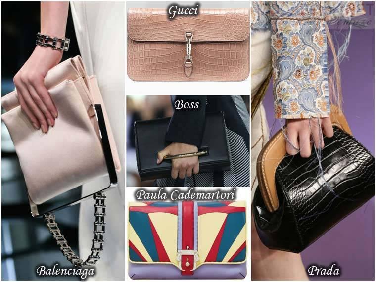 Clutch la moda primavara 2015