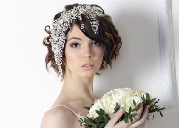 Coafuri De Mireasa Par Lung Mediu Scurt Modele Coafuri Nunta