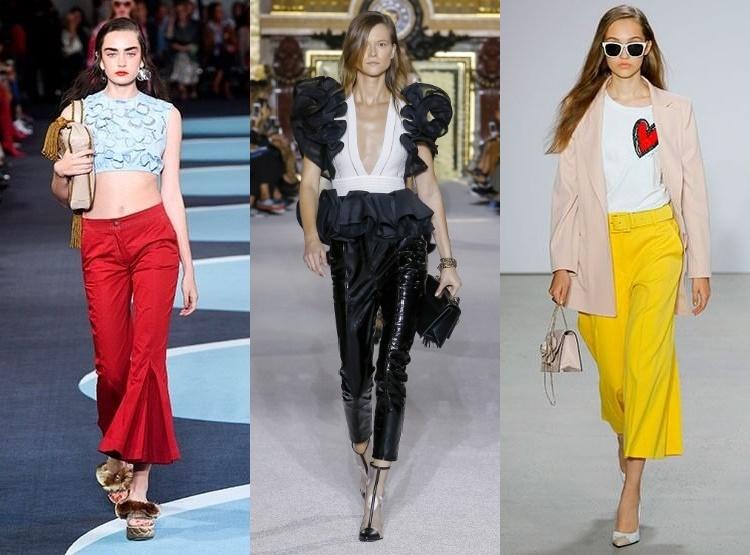 nuovo prodotto fff18 2a4f0 Pantaloni dama la moda primavara-vara 2018 | xmodax.com