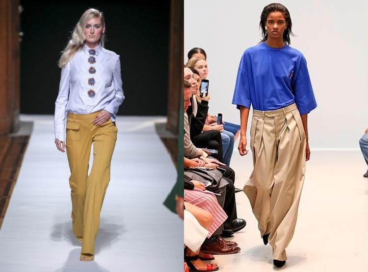 La Moda Vara 2018 Pantaloni Primavara Dama Fzxpf