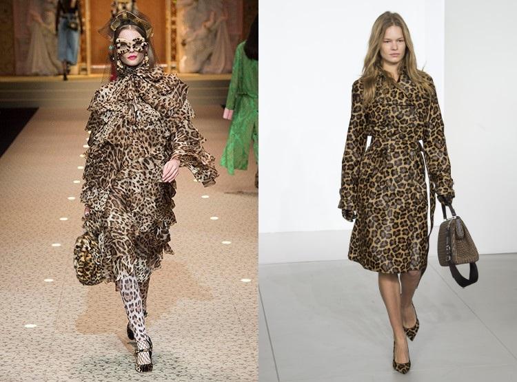 Tendnite toamna iarna 2018 2019 imprimeu leopard