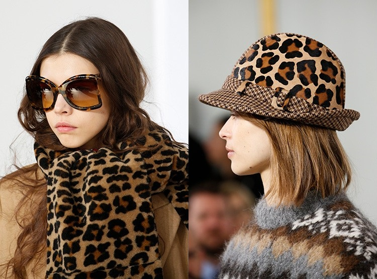 Accesorii cu imprimeu leopard