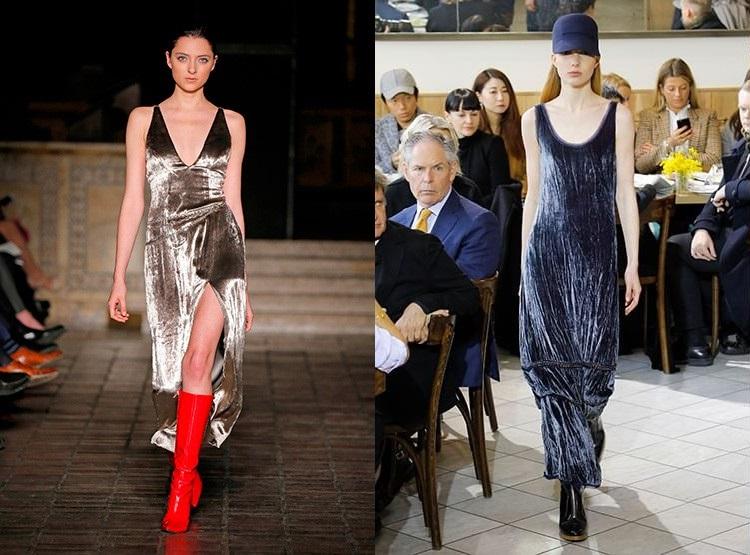 Tendinte moda 2019 catifea